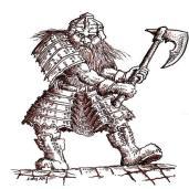 Dwarf facing right