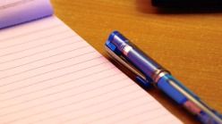 pen and writing pad for blog
