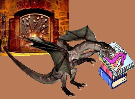 Dragon reading books 2