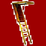 ladder to barn loft 2