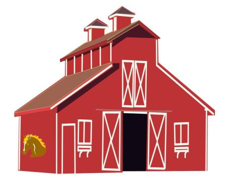 Mystery escaping barn