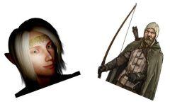 Arrogant One and Bounty Hunter