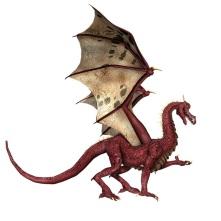 dragon talking
