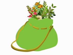 bag of botanicals