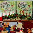 Christmas village and decorations (1)