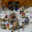 Christmas village and decorations (12)