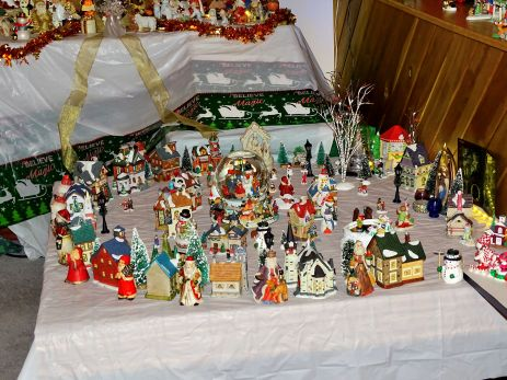 Christmas village and decorations (21)