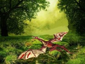 injured dragon