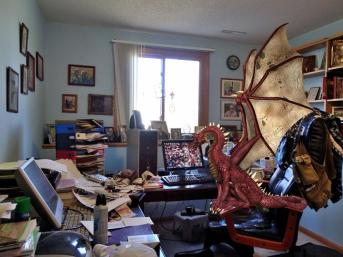 Dragon in office