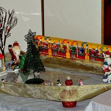 Christmas village and decorations 31