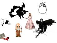Witches, wizard, flying monkey, and more