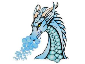 Dragon with Tears