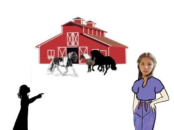Dray shows Marisol the horses