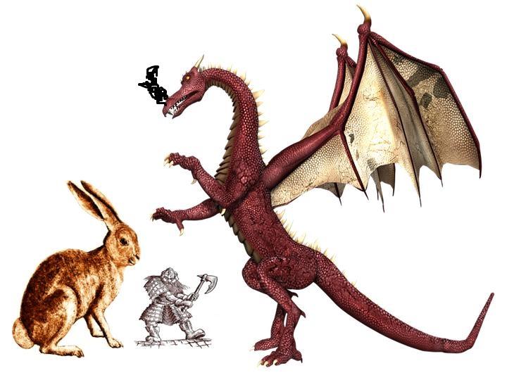 Rabbit and dragon